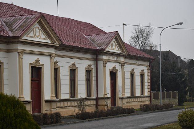 Obec Kurovice, březen 2021.