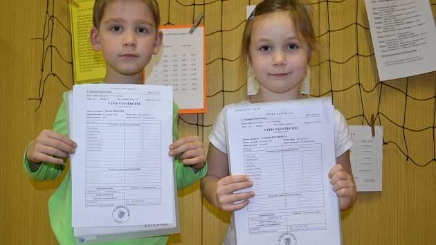 Základní škola Holešov. Pololetní vysvědčení si domů ve čtvrtek 28. ledna odnesli také žáci 3.Základní školy Holešov.
