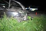 Pod vlivem alkoholu boural v sobotu 20.8. v noci na silnici mezi Cvrčovicemi a Zdounkami sedmačtyřicetiletý cizinec v BMW.