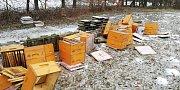 Včelaři někdo v Přílepích pobořil na třicet úlů, viník zatím spravedlnosti uniká. Pokud si někdo v noci na minulý pátek 9. února u silnice vedoucí z Lukovečku do Přílep a dál na Holešov všiml něčeho podezřelého, může se obrátit na policii.
