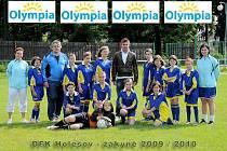 Mezi mladé fotbalistky a fotbalisty DFK Holešov zavítal Zdeněk Grygera.