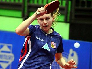 Stolní tenistka Hana Matelová.