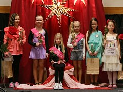 V holešovském středisku volného času se o víkendu konaly soutěže pro nejmenší dívenky nazvané Miss poupě a Miss kvítek.