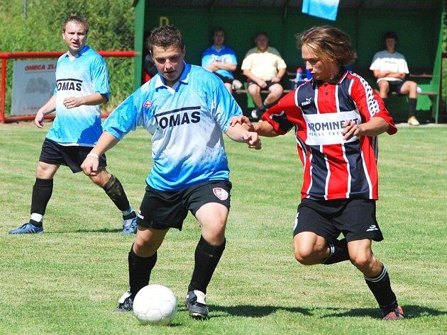 Fotbal Mysločovice B - Pravčice