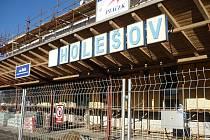 V Holešově začali s rekonstrukcí vlakového nádraží.