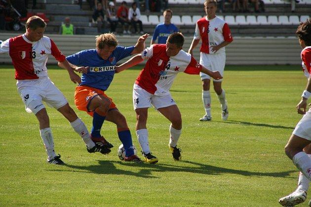 Fotbal HS Kroměříž - Ostrava B