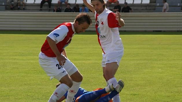 Fotbal HS Kroměříž. Ilustrační foto