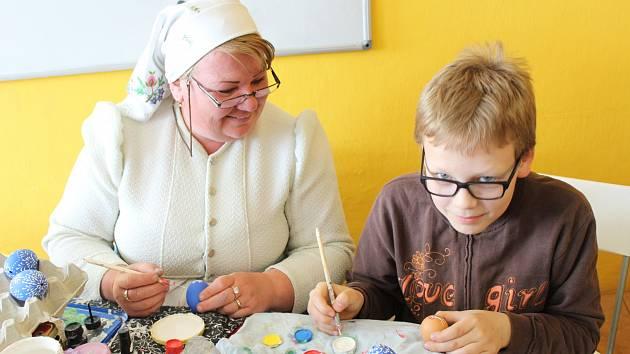 Už dvanáctým rokem uspořádalo holešovské TyMy centrum mimo jiné také velikonoční jarmark.