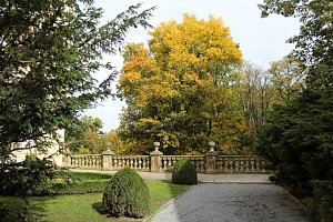 Podzámecká zahrada v Kroměříži. Ilustrační fotografie