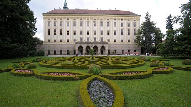 Podzámecká zahrada v Kroměříži.