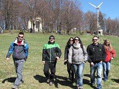Větrná elektrárna na Svatém Hostýně. Ilustrační foto.