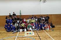 Svatomartinský turnaj ve florbalu se konal v SVČ TYMY Holešov.