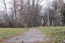 Městský park v Holešově