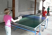 Hulínské Svatováclavské hody pokračovaly i v sobotu. Během odpoledne se hrálo několik sportovních turnajů.