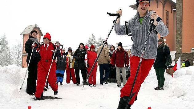 Zimní sportovní hry na Sv. Hostýně