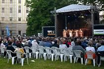 Muzikál Noc na Karlštejně v Podzámecká zahradě v Kroměříži, 12. 6. 2021