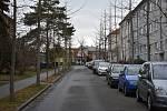Peřinkova ulice, Kroměříž.