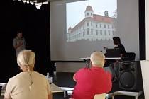 Holešovský hrad na výstavě ve Zlíně.