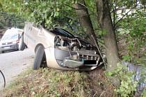 Dopravní nehoda u Rajnochovic.