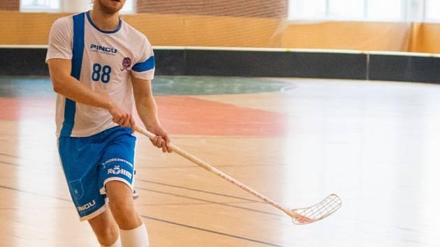 florbalista Holešova Tomáš Müller