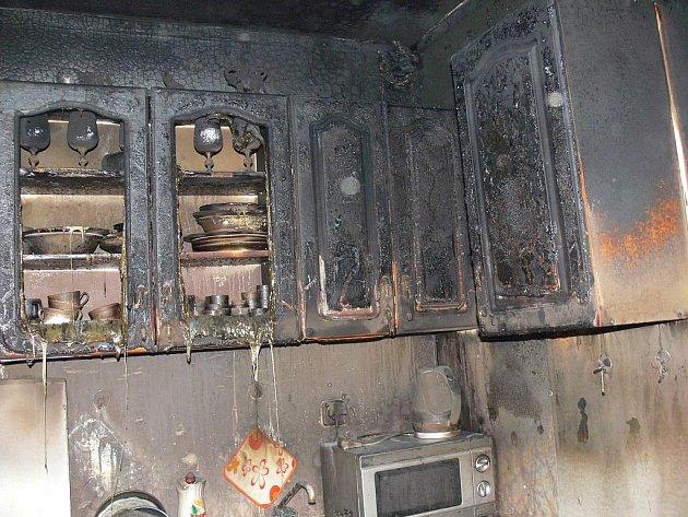 V pondělí 6. února došlo k požáru v ulici Bořenovská v Holešově.