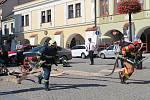 Hasičské závody o putovní pohár ředitele HZS Zlínského kraje v TFA v Kroměříži