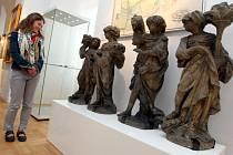 Kabinet zahradní kultury – 500 let zahradní kultury v Kroměříži  Nová stálá expozice ve II. patře Arcibiskupského zámku