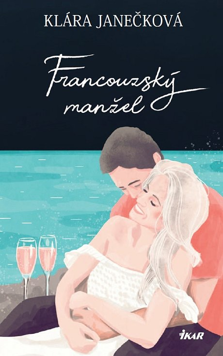 Přebal nové knihy Francouzský manžel.