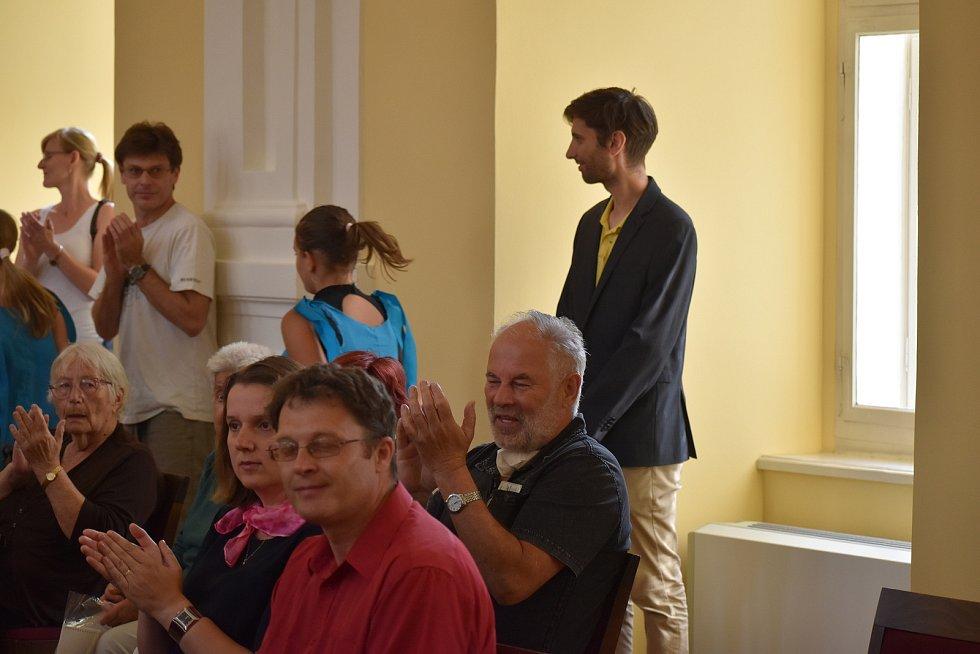 Zahájení Festivalu židovské kultury, 21. ročník, 20. července 2021.
