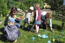 V kroměřížském mateřském centru Klubíčko oslavili ve středu 13. května 2009 Den matek.