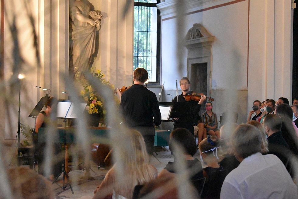 Zahajovací koncert III. ročníku Mezinárodní letní hudební akademie Kroměříž.