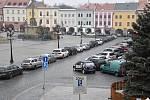 Velké náměstí v Kroměříži. Ilustrační foto.