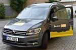 Nové auto sociální služby Senior taxi.