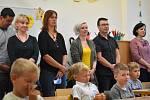 První školní den na Kroměřížsku - 1. září 2020