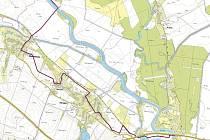 Kroměřížská radnice zveřejnila plánovanou trasu nové cyklostezky směrem na Postoupky a Kojetín.