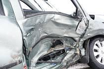 Pomoc hasičů po další dopravní nehodě u Hulína