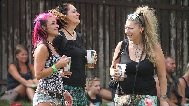 Pivní slavnosti v areál na Kamínce u Roštína