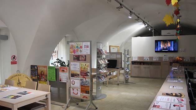 Turistické informační centrum v Kroměříži. Ilustrační foto