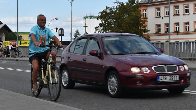 Cyklista. Ilustrační foto