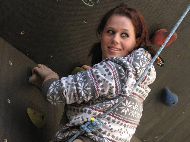 V kroměřížském nízkoprahovém zařízení pro děti a mládež se v úterý 14. dubna 2009 konal Turnaj v lezení.