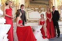 Svatební přehlídka na kroměřížském zámku