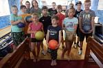Holešovské SVČ TYMY uspořádalo sportovní tábor pro děti Sport camp.