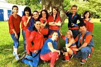Pod vedením Marka Meluzína oslavila letos kroměřížská taneční skupina M dance crew čtvrté výročí.