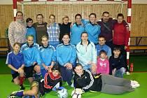 Fotbalistky absolvovaly zimní soustředění.