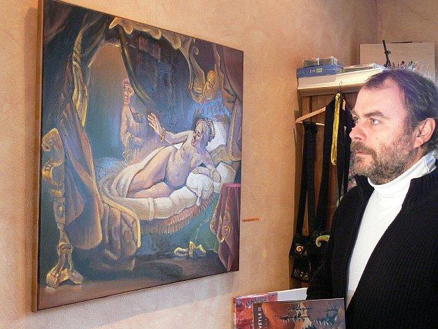Až do 1. ledna 2010 trvá v kroměřížské galerii U Artuše výstava Miroslava Koupila, rodáka z Kroměříže. Expozici už navštívilo zhruba šest set lidí.