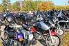 Více než dvě stovky motorkářů se sjely v sobotu 13. října 2018 do Zdounek. Motorkáři tam ukončili spanilou jízdu, na kterou se vydali z Otrokovic přes Halenkovice, Žlutavu či třeba Kroměříž až právě do Zdounek. Ukončili tak tím letošní motorkářskou sezonu