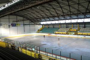 Zimní stadion v Kroměříži. Ilustrační foto