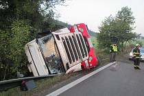 Dopravní nehoda u Střílek.