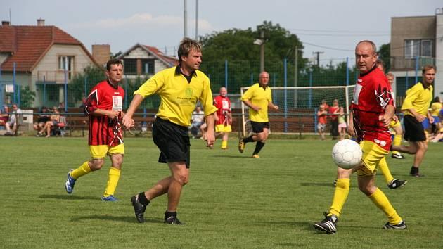Oslavy v Žalkovicích byly plné fotbalu a zábavy