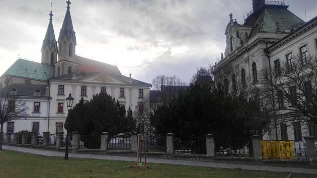 Arcibiskupské gymnázium v Kroměříži prochází každoročně  nákladnými opravami.